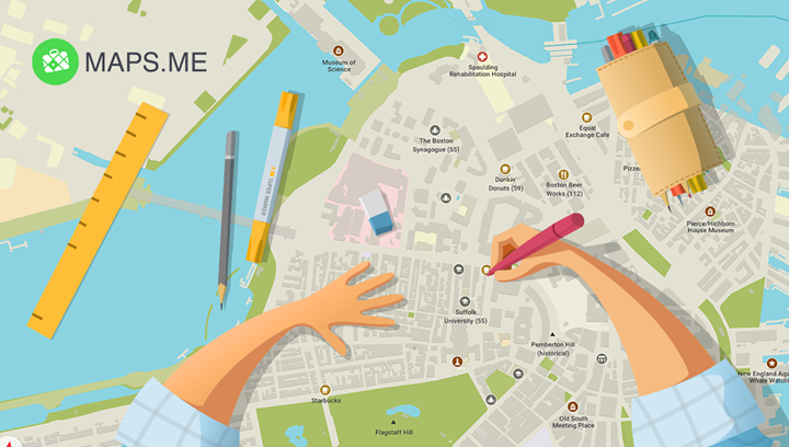 MAPS ME - Mail Ru Group